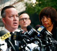 Baltimore police commissioner fired after record year in homicides