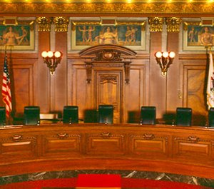 The Illinois Supreme Court ruled that ambulance services can be held liable for a crash that occurs en route to a nonemergency pickup. (Photo/Illinois Supreme Court)