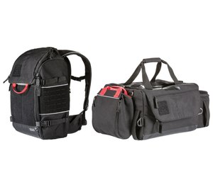 """5.11 Tactical designed its backpack and duffel with input from EMS providers. Removable pouches make it easy to customize, and the compartments help users prioritize """"first-grab items"""" like gloves and tablets."""
