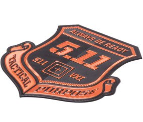 5.11 Tactical today revealed its new line of high-tech ChromaFlex alternatives to traditional metal and embroidered badges.