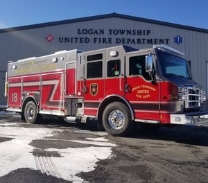 Travis Lunglhofer of Logan Township United Fire Department in Blair County said the time and travel required for training at the Lewistown academy makes it difficult to retain new members. (Photo/Logan Township United Fire Department)