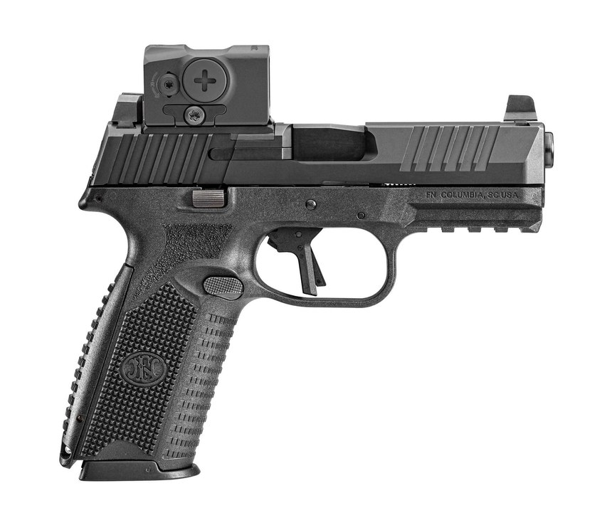 For the FN 509, Sgt. De Bella explained that easy maintenance protocols coupled with the ability to instantly accept the most popular red dots on the market really made it stand out.
