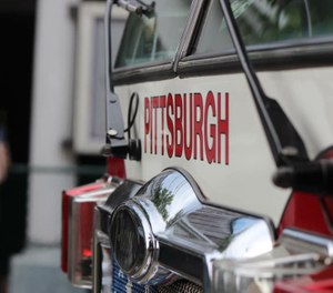 Pittsburgh first responders won't be notified if they came in contact with a patient who tested positive for COVID-19 due to federal privacy laws, officials said. (Photo/Pittsburgh Bureau of Fire Facebook)