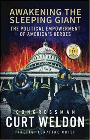The book tells Weldon's story from growing up in a fire service family, joining the fire department, becoming politically active and making a difference in Washington D.C. (Photo/Amazon)