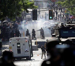 Protests in Seattle often had bad actors embedded and dispersed in the crowd whoinitiated violence and destruction.