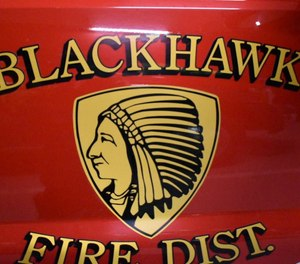 Fire Chief John Trail said Brandon Cox joined the Blackhawk department in November and was