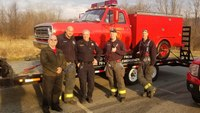 Squad 51 rescue truck makes 'Emergency' stop in Conn. town