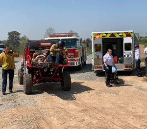 ATV-3 was recently added to the Brea Fire Department fleet to access rough terrain not easily or safely accessible by traditional equipment. (Photo/Brea Fire Department)