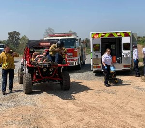 ATV-3 was recently added to the Brea Fire Department fleet to access rough terrain not easily or safely accessible by traditional equipment.