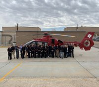 New air medical transport base opens in Calif. county