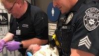 Medics, cops help deliver baby inside Calif. McDonald's