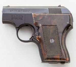 Smith and Wesson  .22 caliber semi-automatic handgun
