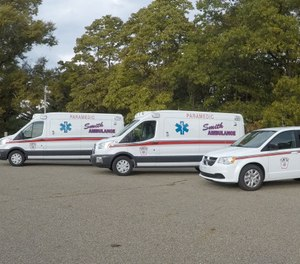 """""""Rural EMS is in crisis in my opinion,"""" said Robert L. Smith, president of the Dover-based company that bears his family name. """"Volunteerism has dwindled to virtually nothing."""" (Photo/Smith Ambulance Service)"""