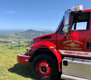 The report comes at a key crossroads for Sonoma County, now two years removed from the most devastating natural disaster on local record, an outbreak of wildfire unprecedented in California at the time. (Photo/Sonoma County Fire District)