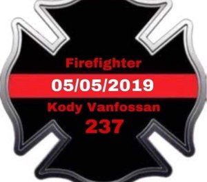 Christopher Fire Department Volunteer Firefighter Kody Vanfossan died fighting a multi-alarm commercial fire. (Photo/Christopher Fire Department)
