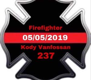 Christopher Fire Department Volunteer Firefighter Kody Vanfossan died fighting a multi-alarm commercial fire.