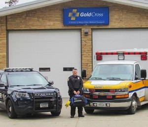 Mikeal Tordsen is sanctioned to also serve as a paramedic while on duty as a police officer after proposing a unique partnership between his two employers