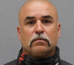 Fired Manchester Firefighter Angelo Alleano Jr. is charged with raping four women between 2001 and 2008.