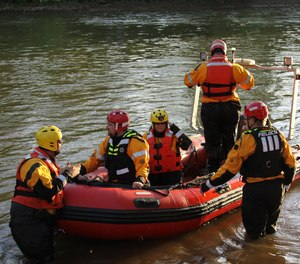 Armstrong County Task Force 340 is a volunteer water rescue group made up of firefighters and EMS personnel from multiple agencies. On Saturday, members of the task force helped rescue two teens whose raft capsized on a frigid lake.