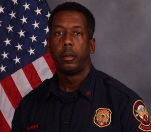 Sgt. Darrow Harden was hit by a car in May while responding to a wreck. (Photo/City of Atlanta Fire Rescue)