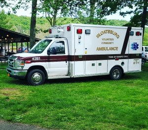 Sloatsburg Volunteer Ambulance Corps Capt. Matthew Gannon, 53, is accused of misappropriating more than $22,000 from the agency and has been charged with four felony counts. (Photo/Sloatsburg Volunteer Community Ambulance Corps Facebook)