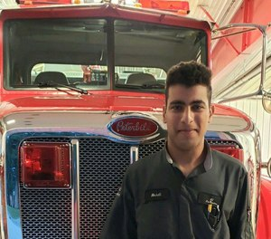Mehdi Mourad, 21, had officially joined the Wabash Fire Protection District as a volunteer five days earlier, and was responding to only his second call for service at the time of the crash.