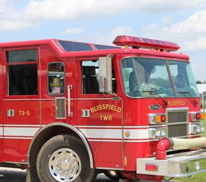 Blissfield Township Fire Department Capt. Joseph Gallo, 34, was killed Tuesday in a rollover car crash while responding to assist with a barn fire.
