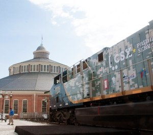 One of the stated goals of Saturday's event was to defuse tensions that may exist between police and the communities they serve. (Photo/ B&O Railroad Museum)