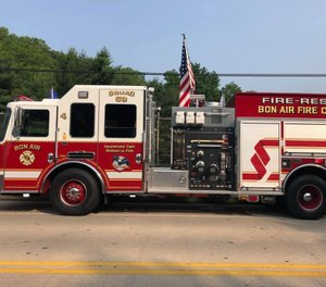 Town officials repossessed the company's firefighting equipment, including its three fire trucks. (Photo/Bon Air Fire Company)