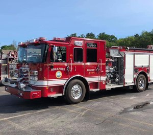 Eleven Rockport residents have sued the town, claiming illegal practices by town leaders as part of a conspiracy to replace volunteer firefighters with paid full-time staff.