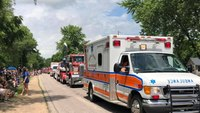 Wis. EMT honored for 43 years of service during parade