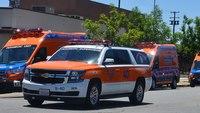 SoCal ambulance service deploys strike team to help with hospital evacuation