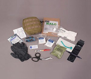 The Officer Down Advanced IFAK provides everything needed to save a severely injured officer.