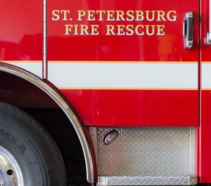 St. Petersburg Fire Rescue is investigating after witnesses said one of its trucks was parked just yards away from a runner who collapsed but did not respond. Officials said the rescue crew were told help was already sent, but that help was sent to the wrong location. (Photo/St. Petersburg Fire Rescue Facebook)