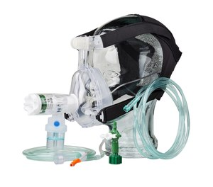 CPAP shouldn't be reserved as a last-ditch effort. Rather, it should be used as a noninvasive positive pressure ventilation tool early on in your treatment regimen for respiratory distress. (image/Bound Tree)