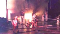 150 firefighters from 23 departments respond to 5-alarm blaze in NY