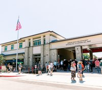 Calif. city holds opening ceremony on $8.3M joint fire station and library