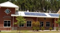 NC city's newest fire station turns to solar panels for power