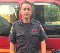 FDNY firefighter saves boy, 4, from locked hot car