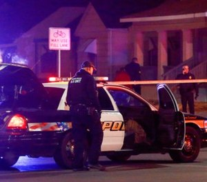 Wichita police investigate a call of a possible hostage situation near the corner of McCormick and Seneca in Wichita, Ks Thursday night 12/28.