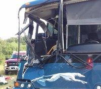 17 injured in Ky. crash between truck and Greyhound bus