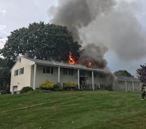 The house was posted unfit for occupancy and fire officials are investigating the exact cause of the blaze. (Photo/Norwalk Fire Department)