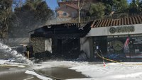 Calif. firefighter injured by roof collapse