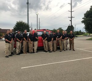 State officials said the State of Ohio/Butler County Incident Management Team is a highly trained management team who can provide coordination, guidance and logistical support to areas declared a disaster. (Photo/Morgan Township Fire Department)