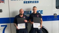 Conn. EMTs honored for response to accident