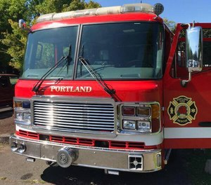 Portland's public safety fund will pay out $240,000 in retroactive pension benefits to 20 retired firefighters and police officers after an arbitrator's ruling. (Photo/Portland Fire & Rescue Facebook)