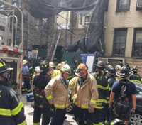 1 dead, 5 injured in NY building collapse