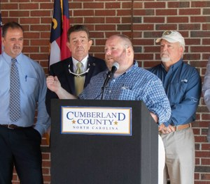 Cumberland County officials announced the North Carolina 911 Board has awarded the funds for the new call center. (Photo/Cumberland County NC - Emergency Services)