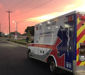 While insurance companies, Medicaid and Medicare pay for a ride to a medical facility, they do not pay for ambulance services that don't require transportation. (Photo/AMR Owensboro)