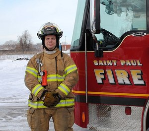 Harrigan was on a leave of absence from the fire department when he died. (Photo/Saint Paul Firefighters Local 21)